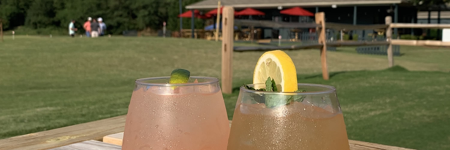 Enjoy a Cocktail at 3's Greenville Golf & Grill